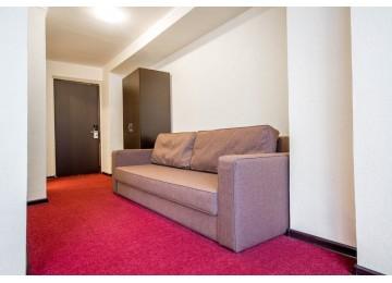 Стандарт плюс 1-комнатный 2-местный|Отель Крокус Домбай